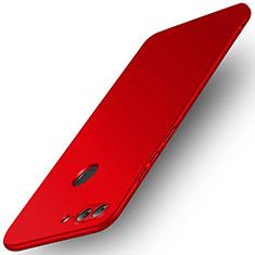 Huawei Honor 9 Lite用ハードケース プラスチック 質感もマット ファーウェイ レッド