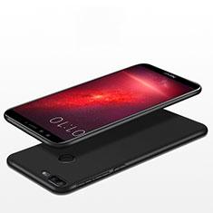 Huawei Honor 9 Lite用極薄ソフトケース シリコンケース 耐衝撃 全面保護 S06 ファーウェイ ブラック