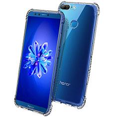 Huawei Honor 9 Lite用極薄ソフトケース シリコンケース 耐衝撃 全面保護 クリア透明 T09 ファーウェイ クリア