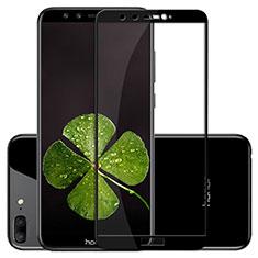 Huawei Honor 9 Lite用強化ガラス フル液晶保護フィルム F02 ファーウェイ ブラック