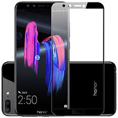 Huawei Honor 9 Lite用強化ガラス フル液晶保護フィルム F03 ファーウェイ ブラック
