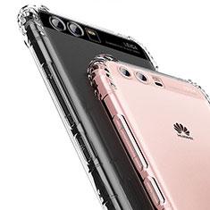 Huawei Honor 9 Premium用極薄ソフトケース シリコンケース 耐衝撃 全面保護 クリア透明 T14 ファーウェイ クリア