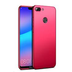 Huawei Honor 9i用ハードケース プラスチック 質感もマット ファーウェイ レッド