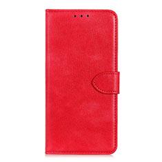 Huawei Honor 9S用手帳型 レザーケース スタンド カバー L10 ファーウェイ レッド