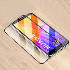 Huawei Honor 9S用強化ガラス フル液晶保護フィルム ファーウェイ ブラック