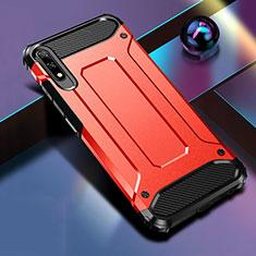 Huawei Honor 9X用ハイブリットバンパーケース プラスチック 兼シリコーン カバー ファーウェイ レッド