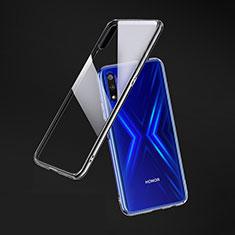 Huawei Honor 9X用極薄ソフトケース シリコンケース 耐衝撃 全面保護 クリア透明 カバー ファーウェイ クリア