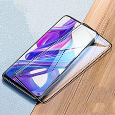 Huawei Honor 9X用強化ガラス フル液晶保護フィルム ファーウェイ ブラック