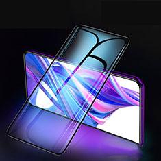 Huawei Honor 9X用強化ガラス フル液晶保護フィルム F02 ファーウェイ ブラック