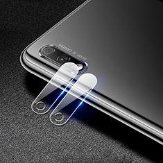 Huawei Honor 9X用強化ガラス カメラプロテクター カメラレンズ 保護ガラスフイルム C01 ファーウェイ クリア