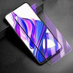 Huawei Honor 9X用アンチグレア ブルーライト 強化ガラス 液晶保護フィルム B02 ファーウェイ クリア