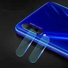 Huawei Honor 9X Pro用強化ガラス カメラプロテクター カメラレンズ 保護ガラスフイルム C01 ファーウェイ クリア