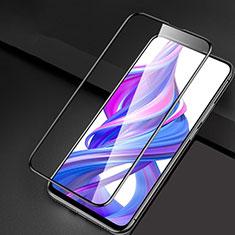 Huawei Honor 9X Pro用強化ガラス フル液晶保護フィルム F04 ファーウェイ ブラック