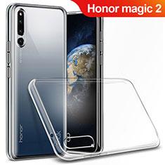 Huawei Honor Magic 2用極薄ソフトケース シリコンケース 耐衝撃 全面保護 クリア透明 T03 ファーウェイ クリア