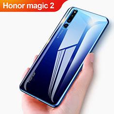 Huawei Honor Magic 2用極薄ソフトケース シリコンケース 耐衝撃 全面保護 クリア透明 T04 ファーウェイ クリア
