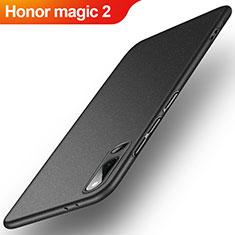 Huawei Honor Magic 2用ハードケース プラスチック カバー ファーウェイ ブラック