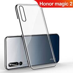 Huawei Honor Magic 2用ハードカバー クリスタル クリア透明 H01 ファーウェイ ブラック