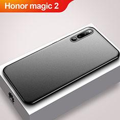 Huawei Honor Magic 2用極薄ソフトケース シリコンケース 耐衝撃 全面保護 S01 ファーウェイ ブラック