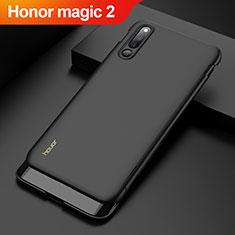 Huawei Honor Magic 2用ハードケース プラスチック 質感もマット 前面と背面 360度 フルカバー M01 ファーウェイ ブラック