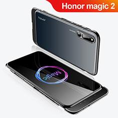 Huawei Honor Magic 2用ハードケース プラスチック 質感もマット 前面と背面 360度 フルカバー M02 ファーウェイ ブラック