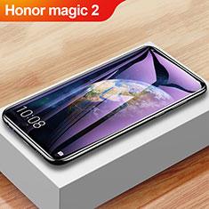 Huawei Honor Magic 2用強化ガラス フル液晶保護フィルム アンチグレア ブルーライト F04 ファーウェイ ブラック