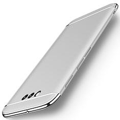 Huawei Honor Magic用ケース 高級感 手触り良い メタル兼プラスチック バンパー M01 ファーウェイ シルバー