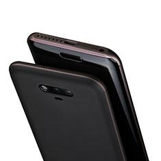 Huawei Honor Magic用極薄ソフトケース シリコンケース 耐衝撃 全面保護 クリア透明 T02 ファーウェイ グレー