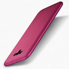 Huawei Honor Magic用ケース 高級感 手触り良いレザー柄 L01 ファーウェイ ローズレッド