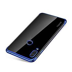 Huawei Honor Note 10用極薄ソフトケース シリコンケース 耐衝撃 全面保護 クリア透明 H01 ファーウェイ ネイビー