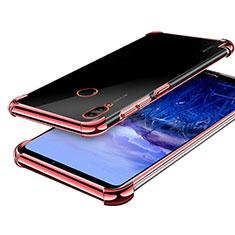 Huawei Honor Note 10用極薄ソフトケース シリコンケース 耐衝撃 全面保護 クリア透明 H03 ファーウェイ ローズゴールド