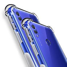 Huawei Honor Note 10用極薄ソフトケース シリコンケース 耐衝撃 全面保護 クリア透明 カバー ファーウェイ クリア