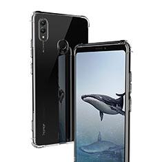 Huawei Honor Note 10用極薄ソフトケース シリコンケース 耐衝撃 全面保護 クリア透明 T02 ファーウェイ クリア