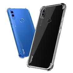 Huawei Honor Note 10用極薄ソフトケース シリコンケース 耐衝撃 全面保護 クリア透明 T03 ファーウェイ クリア