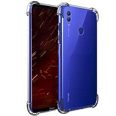 Huawei Honor Note 10用極薄ソフトケース シリコンケース 耐衝撃 全面保護 クリア透明 T06 ファーウェイ クリア
