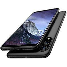 Huawei Honor Note 10用極薄ソフトケース シリコンケース 耐衝撃 全面保護 S02 ファーウェイ ブラック