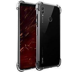 Huawei Honor Note 10用極薄ソフトケース シリコンケース 耐衝撃 全面保護 クリア透明 T07 ファーウェイ クリア