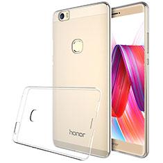 Huawei Honor Note 8用極薄ソフトケース シリコンケース 耐衝撃 全面保護 クリア透明 T04 ファーウェイ クリア