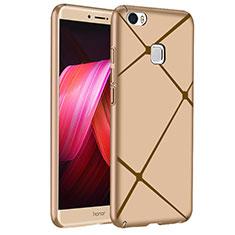 Huawei Honor Note 8用ハードケース プラスチック ライン ファーウェイ ゴールド