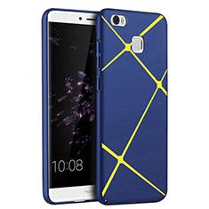 Huawei Honor Note 8用ハードケース プラスチック ライン ファーウェイ ネイビー