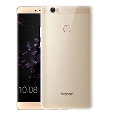 Huawei Honor Note 8用極薄ソフトケース シリコンケース 耐衝撃 全面保護 クリア透明 T07 ファーウェイ クリア