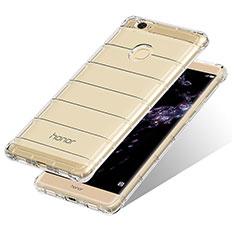 Huawei Honor Note 8用極薄ソフトケース シリコンケース 耐衝撃 全面保護 クリア透明 T10 ファーウェイ クリア