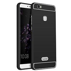 Huawei Honor Note 8用ケース 高級感 手触り良い アルミメタル 製の金属製 ファーウェイ ブラック
