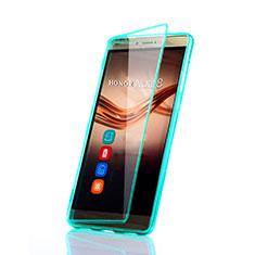 Huawei Honor Note 8用ソフトケース フルカバー クリア透明 ファーウェイ グリーン