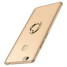 Huawei Honor Note 8用ハードケース プラスチック 質感もマット アンド指輪 ファーウェイ ゴールド