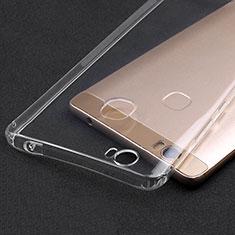 Huawei Honor Note 8用極薄ソフトケース シリコンケース 耐衝撃 全面保護 クリア透明 T02 ファーウェイ クリア