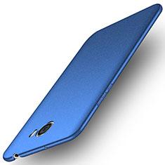 Huawei Honor Play 5用ハードケース プラスチック 質感もマット ファーウェイ ネイビー