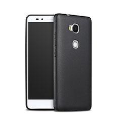 Huawei Honor Play 5X用シリコンケース ソフトタッチラバー ファーウェイ ブラック