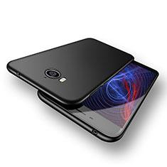 Huawei Honor Play 6用ハードケース プラスチック 質感もマット M02 ファーウェイ ブラック