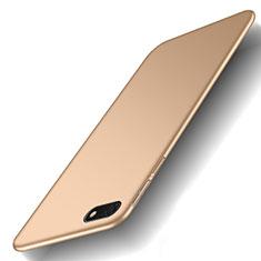 Huawei Honor Play 7用ハードケース プラスチック 質感もマット M01 ファーウェイ ゴールド