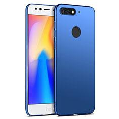 Huawei Honor Play 7A用ハードケース プラスチック 質感もマット ファーウェイ ネイビー